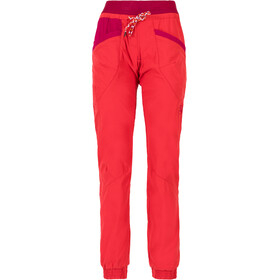 La Sportiva Mantra Pants Women red/purple